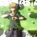 壁紙風リメグリーン